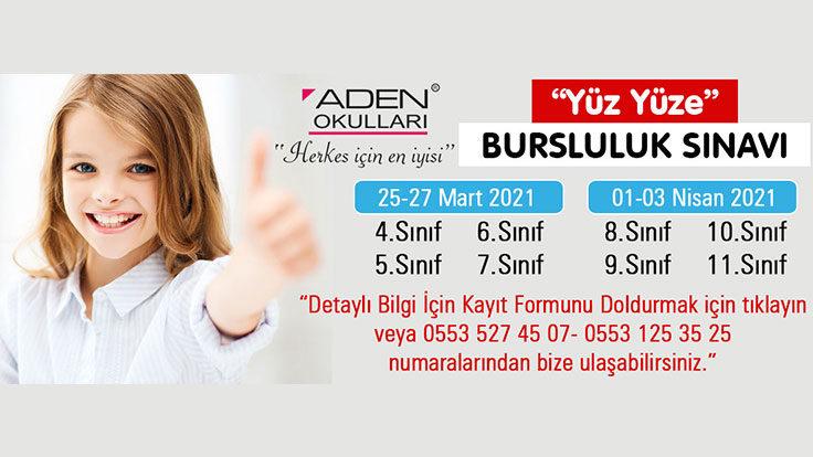 """""""Yüz Yüze"""" Bursluluk Sınavı"""